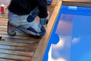 Bernadri Mauro Schio Vicenza posatore pavimenti in legno da esterni piscine